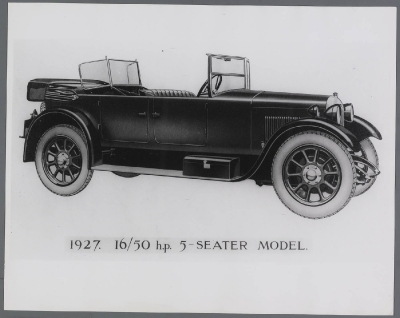1927 rover 16-50hp tourer