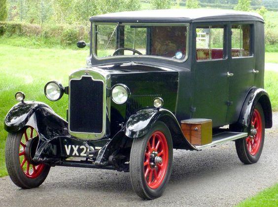 1929 Rover 10-25 Riviera Saloon by Weymann