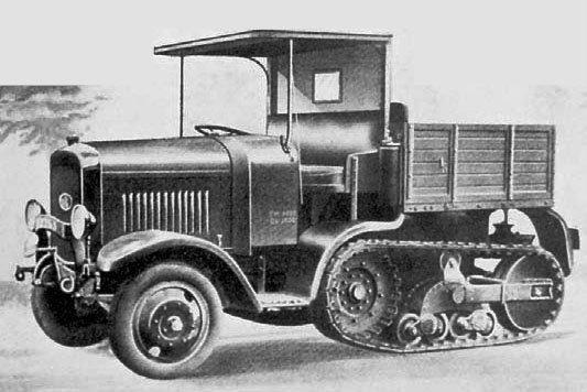 1929 SOMUA-Kegresse MCG-4
