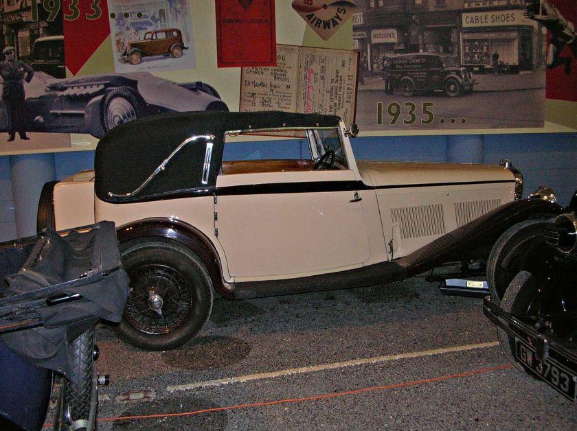 1930 Rover Meteor drophead coupé body by Corsica Gaydon(5508141480)