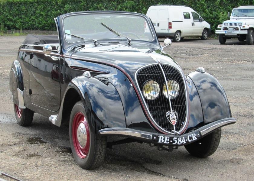 1930's Peugeot 202 2-door cabriolet