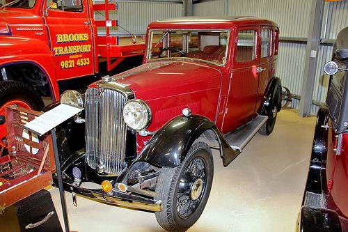 1933 Rover 14 hp Pilot sedan