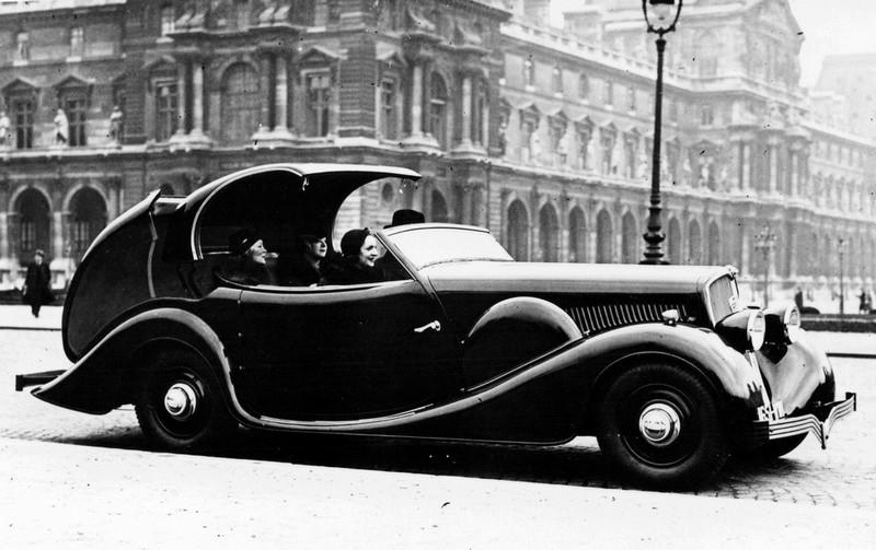 1934 Peugeot 601 C Eclipse Pourtout