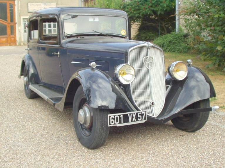 1934 Peugeot 601 C