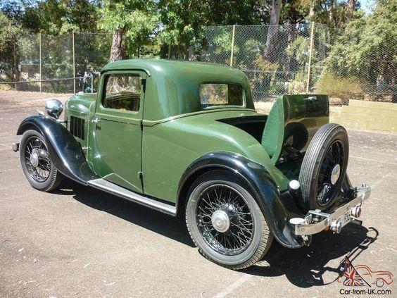 1934 Rover 12-4