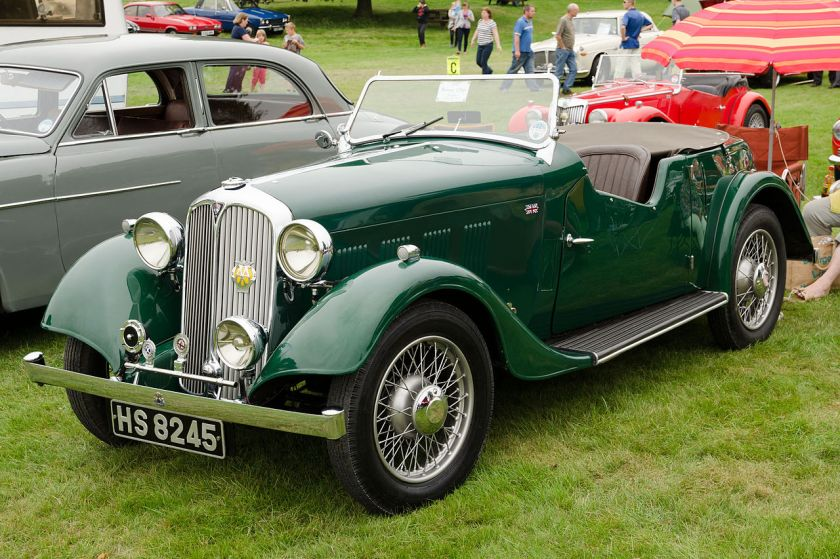 1935 Rover 12 Tourer (DVLA) first registgered 23 March 1935, 1308 cc