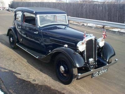 1935 rover 14 4dr saloon Hyman ltd