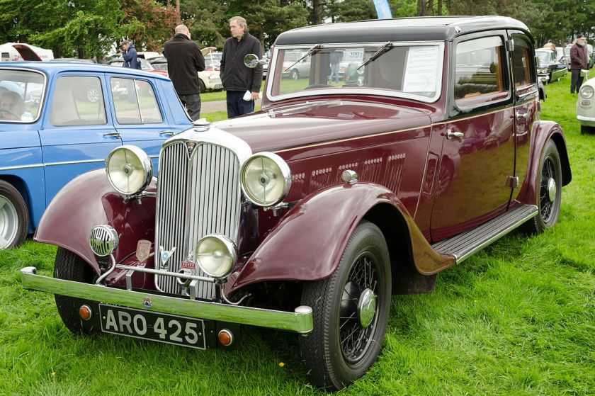 1935 Rover 14 Sports Saloon P1