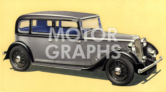 1935 Rover Twelve Saloon 1935
