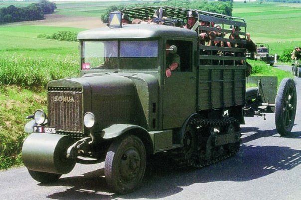 1935 SOMUA MCG-5