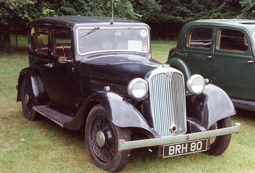 1936 Rover 10