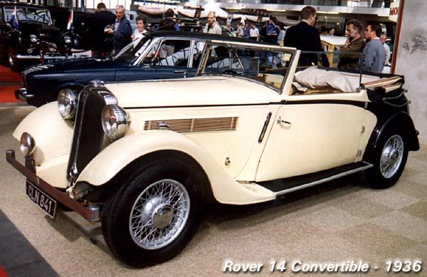 1936 Rover 14