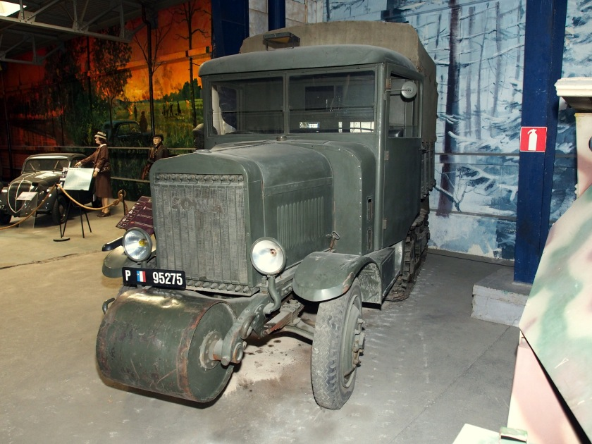 1936 SOMUA MCG5, in the Musée des Blindés, France