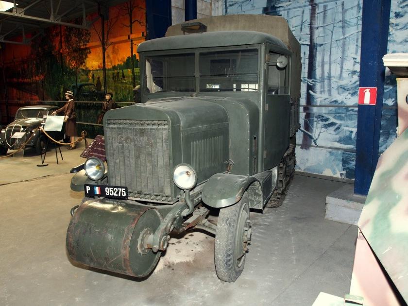 1936 SOMUA MCG5, in the Musée des Blindés, France
