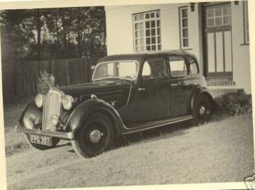 1937-38 rover 14 FPG397
