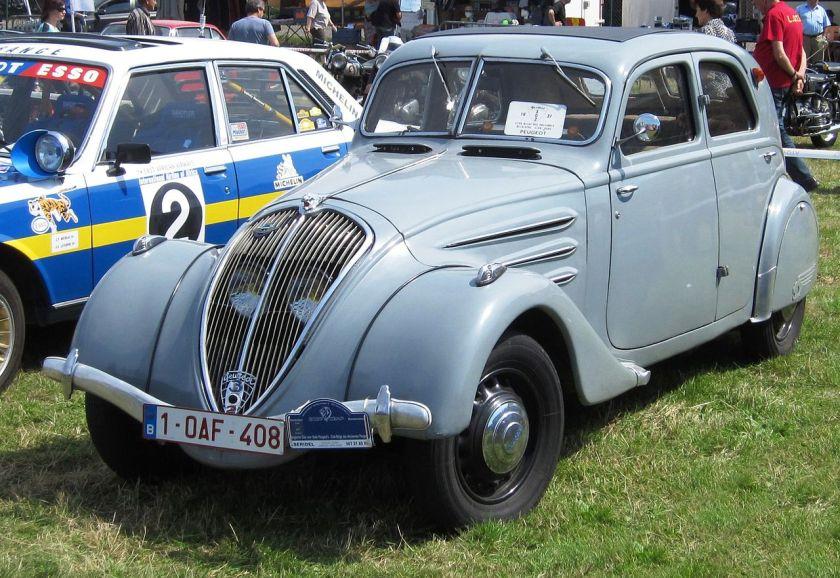 1937 Peugeot 302 Schaffen-Diest Belgique