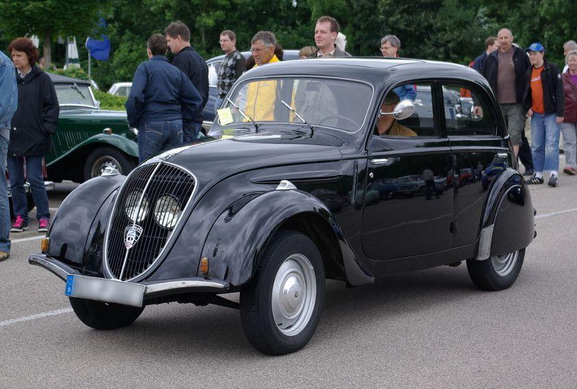 1938 Peugeot 202 noir