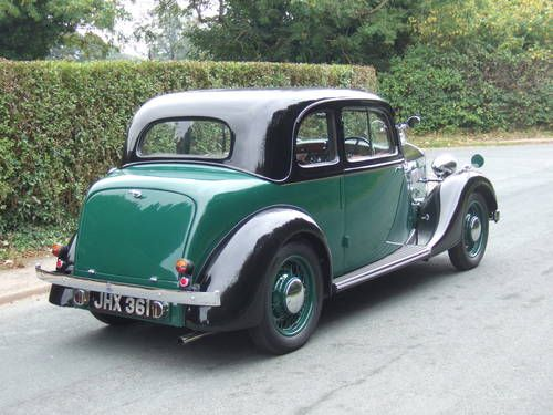 1938 Rover 10 Coupe JHX 361