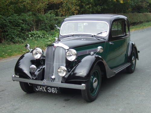 1938 Rover 10 Coupe