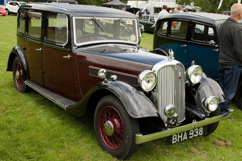 1938 Rover 14 (P2) 6-Light Saloon