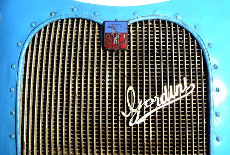 1939 simca gordini emblem