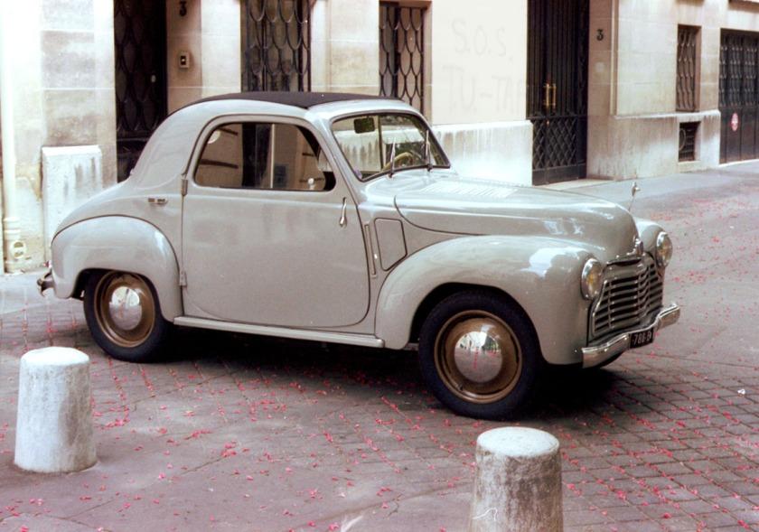 1947-50 Simca 6 2-door coupé