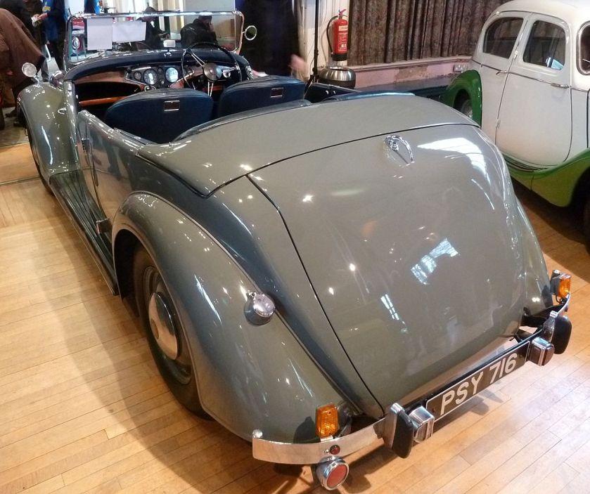 1947 Rover 12hp Tourer (DVLA) 1495cc PSY 716