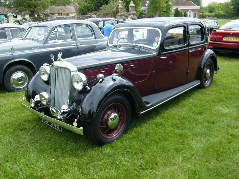 1947 Rover 16 four-light sports saloon HUF396 (DVLA) first registered 12 June 1947, 2147 cc