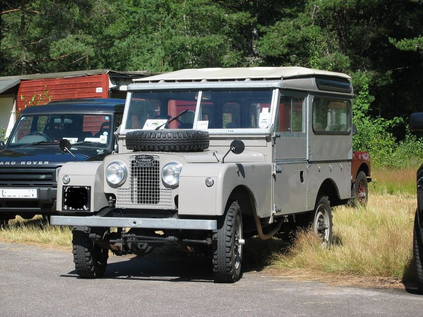 1948-57 Land Rover Series I hardtop