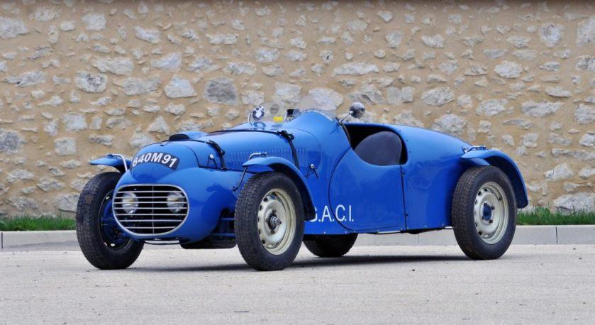 1948 Autobleu Simca 8 Sport Ex-AGACI