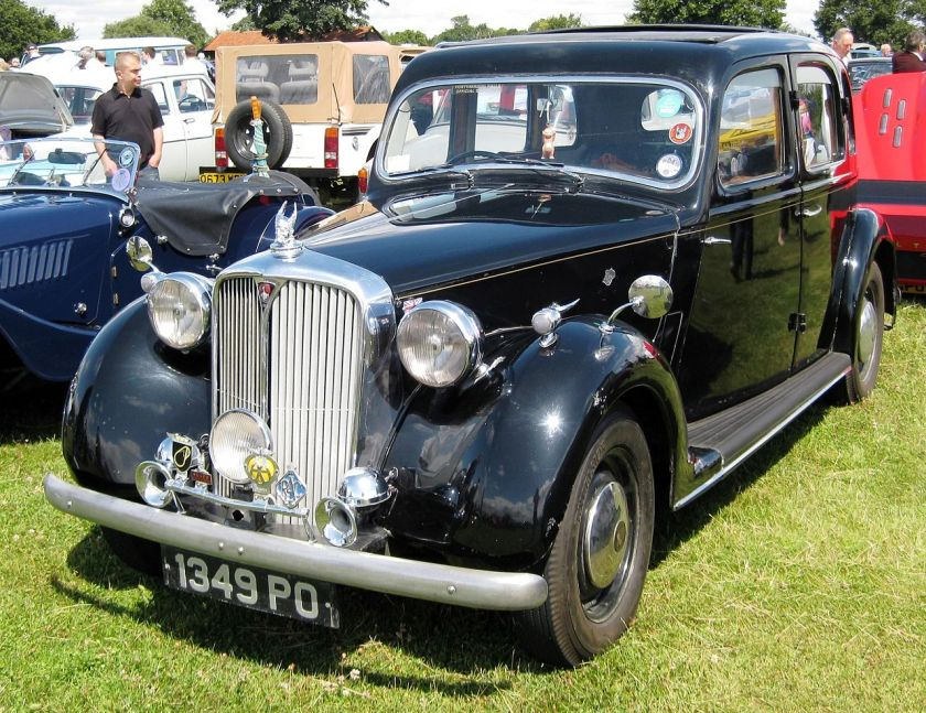 1948 Rover 60 aka Rover P3 1595cc September 1948