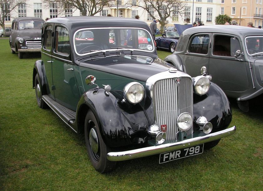 1948 Rover 75 6-light saloon