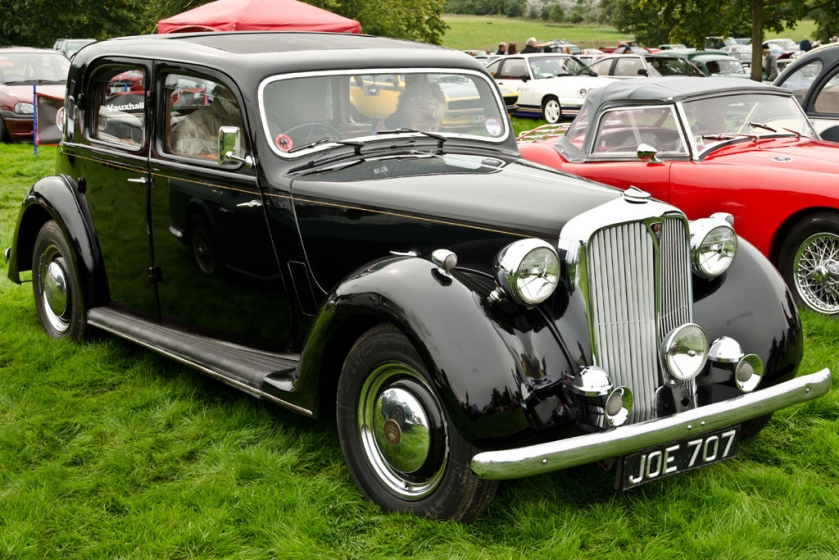 1948 Rover 75 P3 (DVLA) first registered 9 September 1948, 2103 cc front