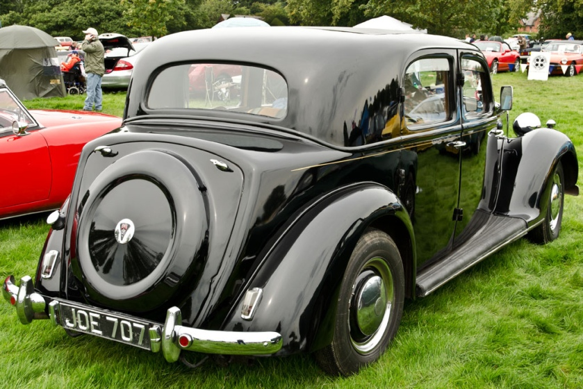 1948 Rover 75 P3 (DVLA) first registered 9 September 1948, 2103 cc