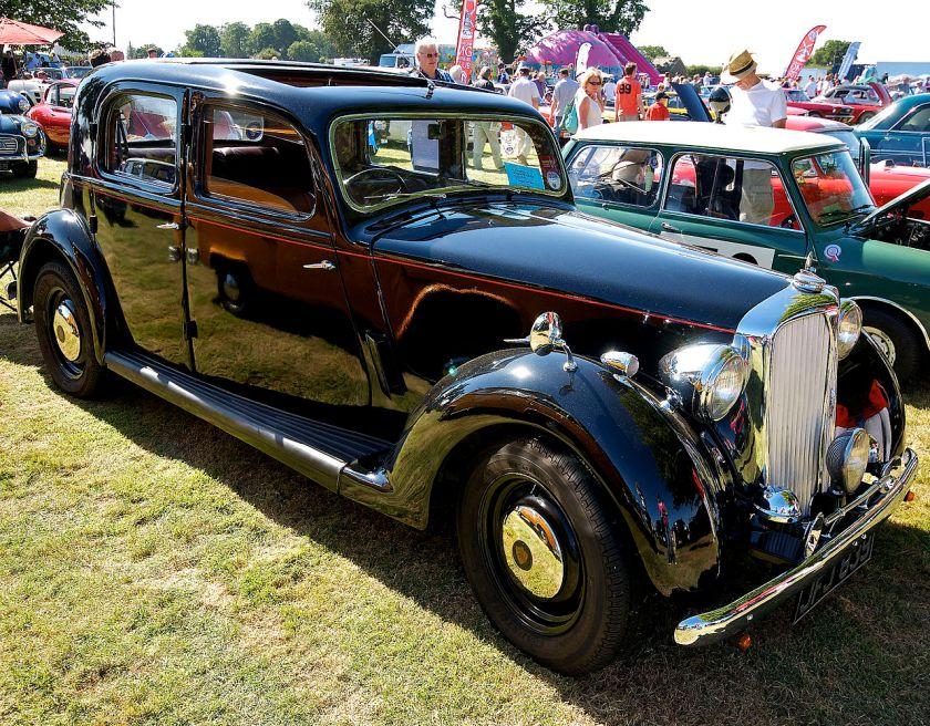 1949 Rover 60 saloon P3