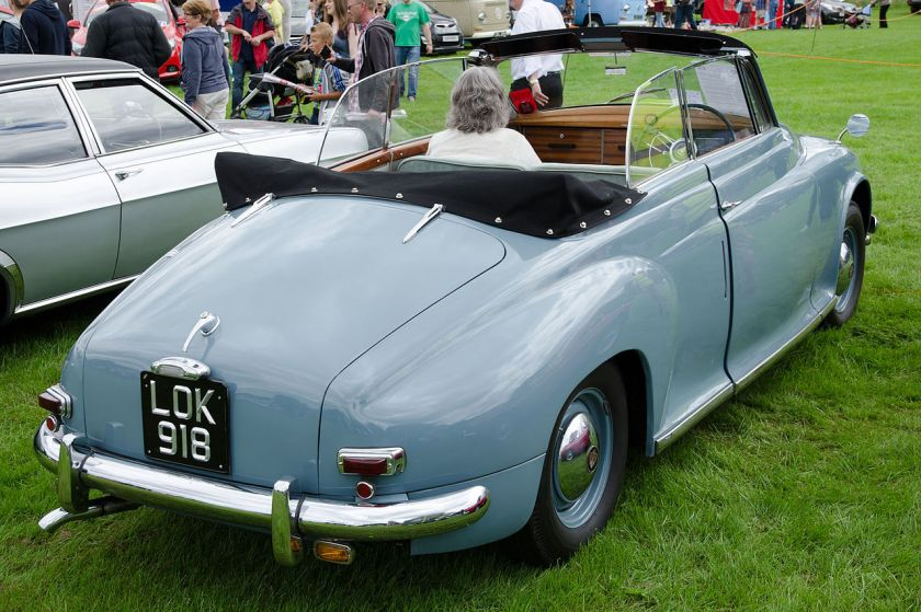 1950 Rover 75 drophead coupé by Tickford