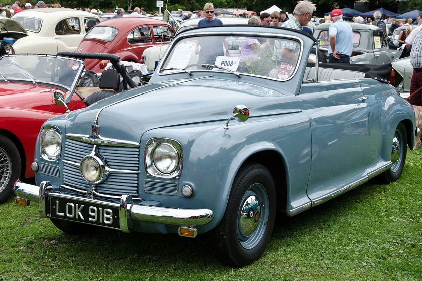 1950 Rover 75 drophead coupé