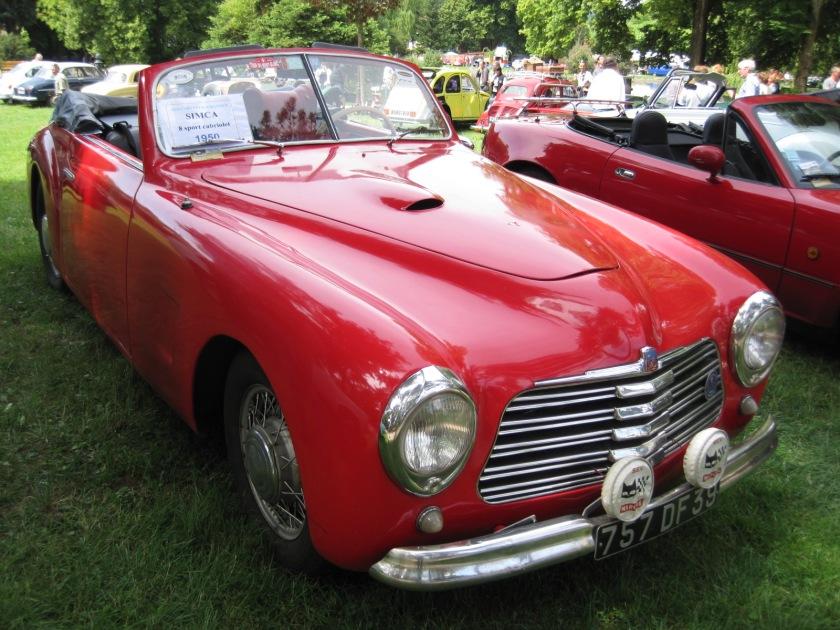 1950 Simca 8 Sport Cabriolet 001