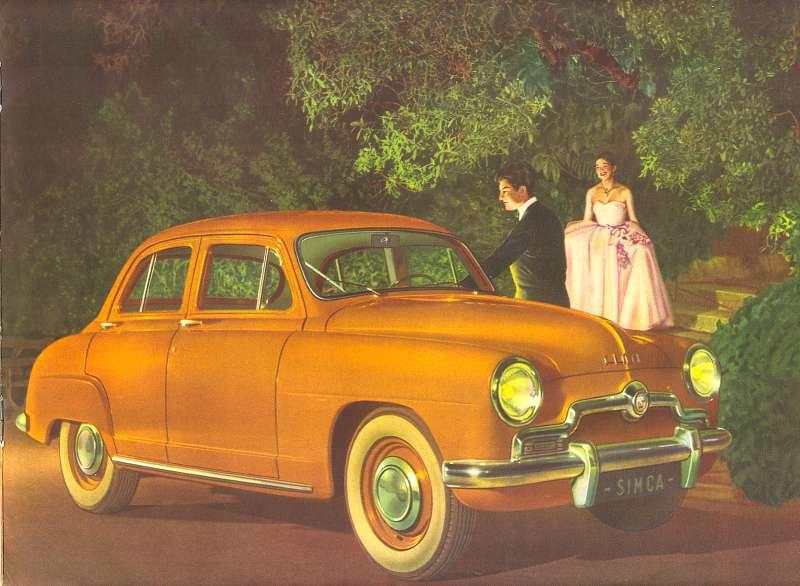 1950 simca p15