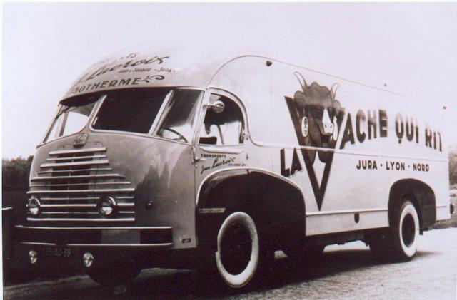 1950 Somua de 1950 carrossé par Cottard des Transports Lacroix