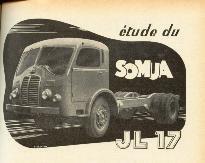 1950 SOMUA JL 17, 150 cv, 6 cyl