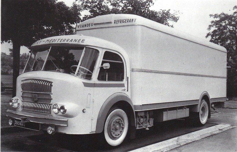 1950 Somua JL 17 porteur de 19 tonnes en 1950-51