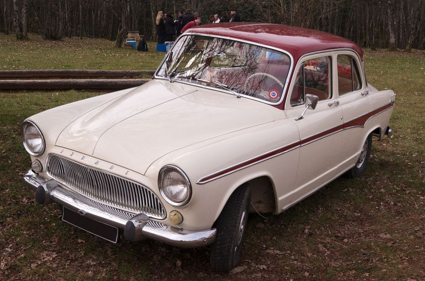 1951-64 Simca Aronde 4-door saloon (P60)