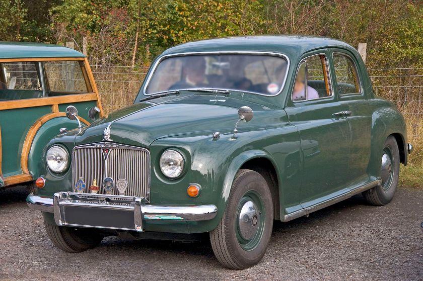 1951 Rover P4 1075 Mk II frontg