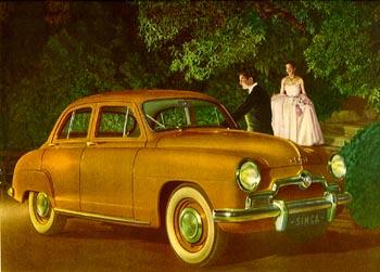 1951 simca 9 aronde-a