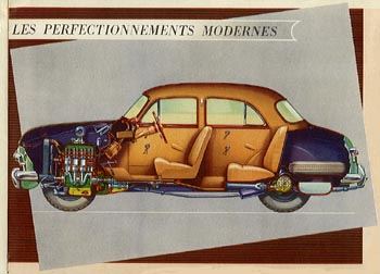 1951 simca 9 aronde-c