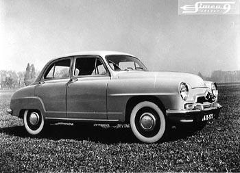 1951 simca 9 aronde-d