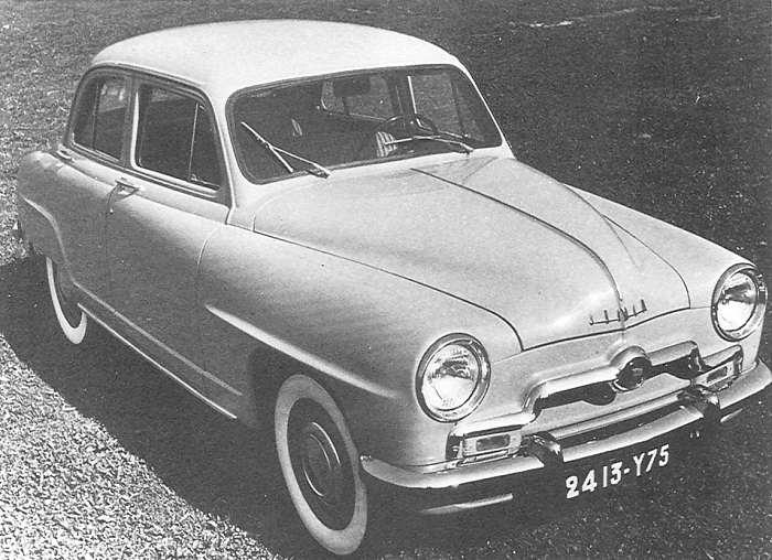 1951 simca 9