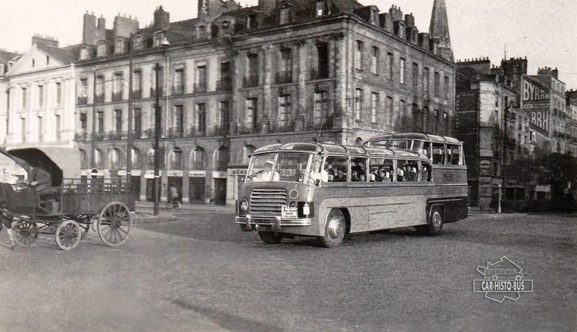 1951 SOMUA Belvédère - Drouin Frères - Nantes (44) - 1951 by Car-Histo-Bus