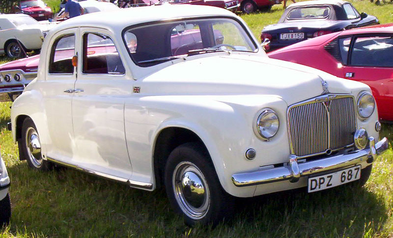 1952 Rover 75 2-Door Saloon